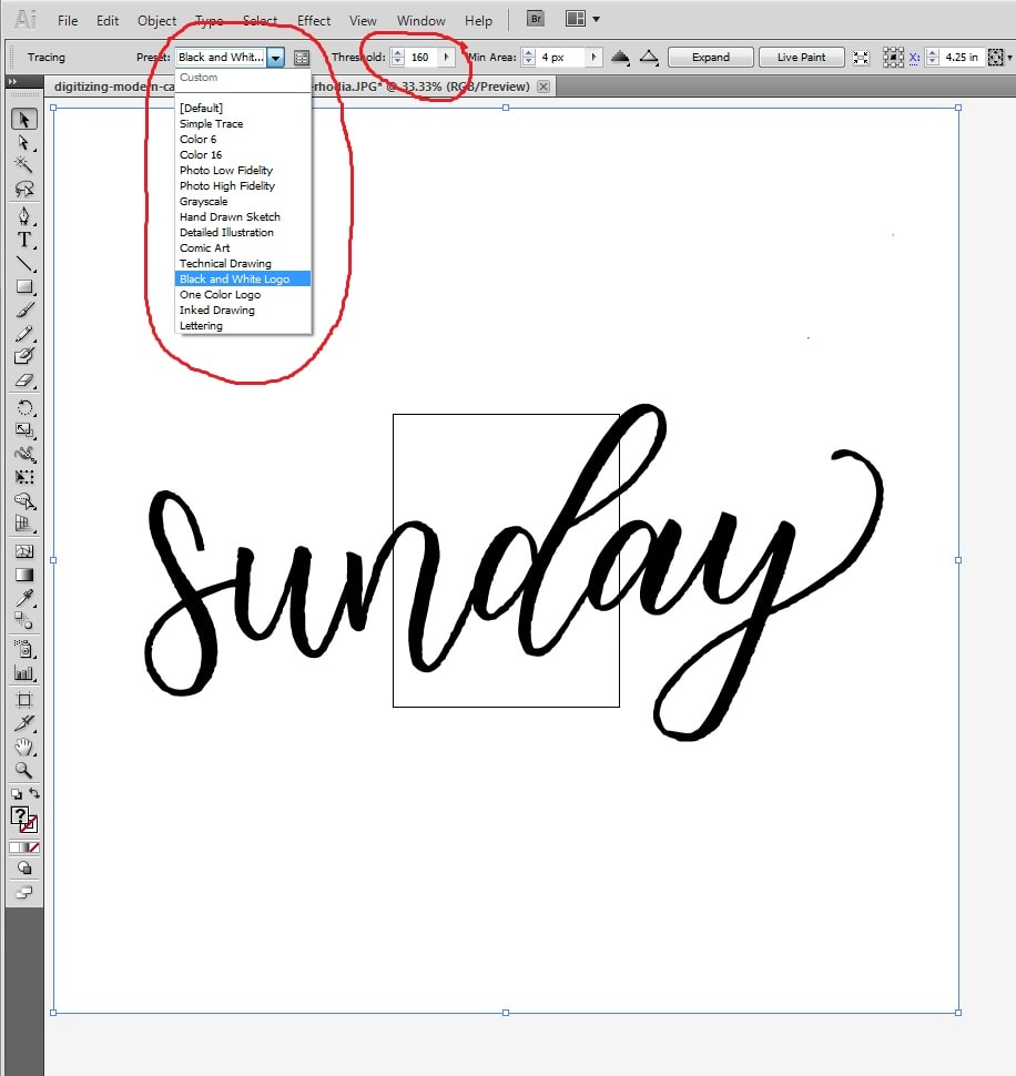 how to remove white background in illustrator live trace