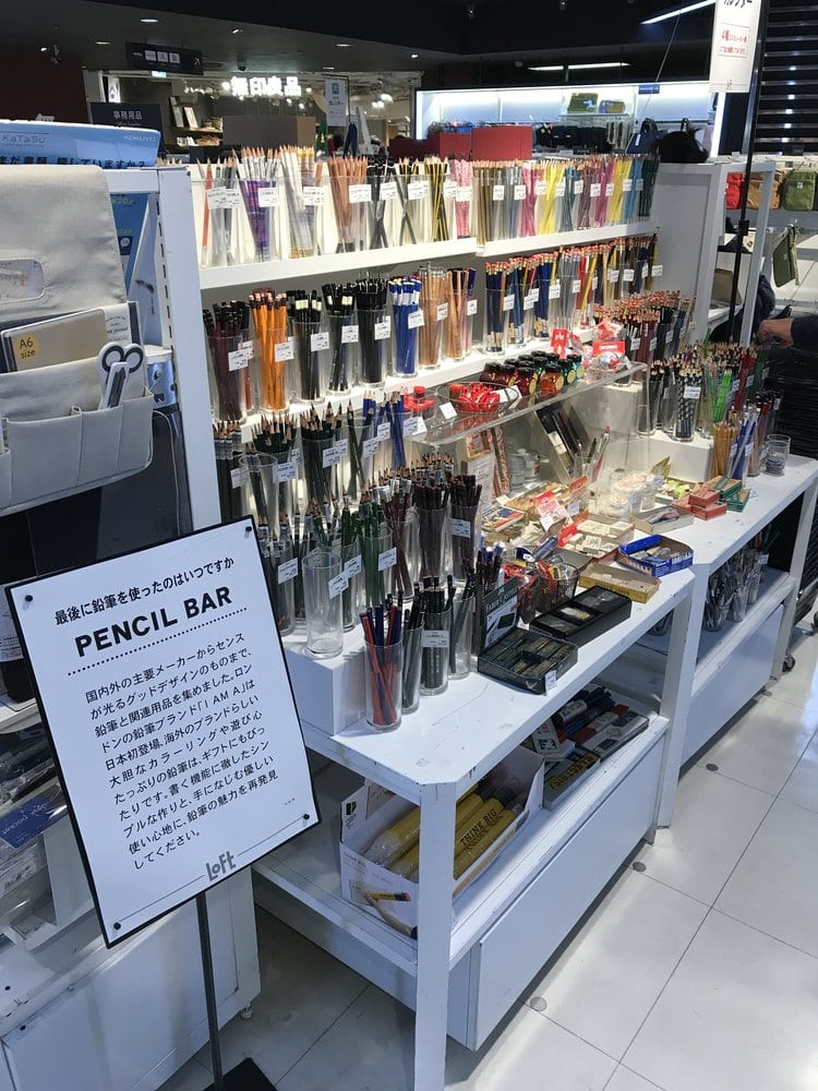 The (AMAZING) Art Stores in Tokyo, Japan - The Happy Ever