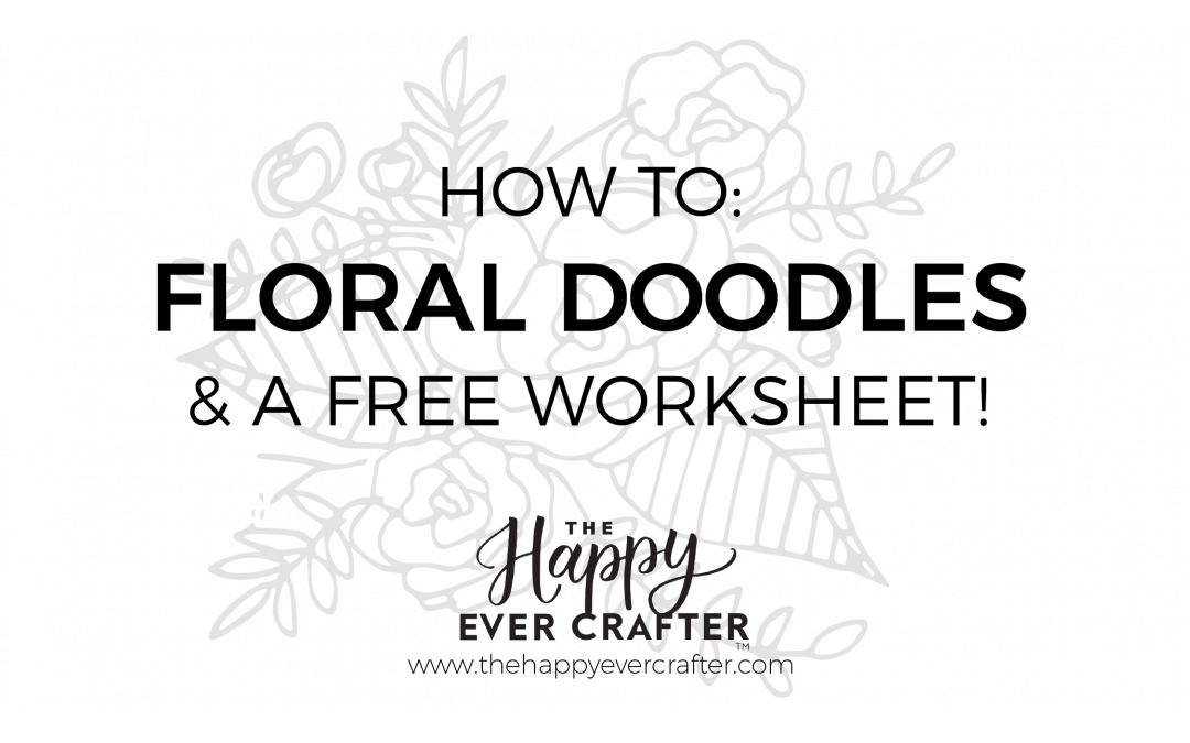 How To Easily Add Floral Doodles To Your Work