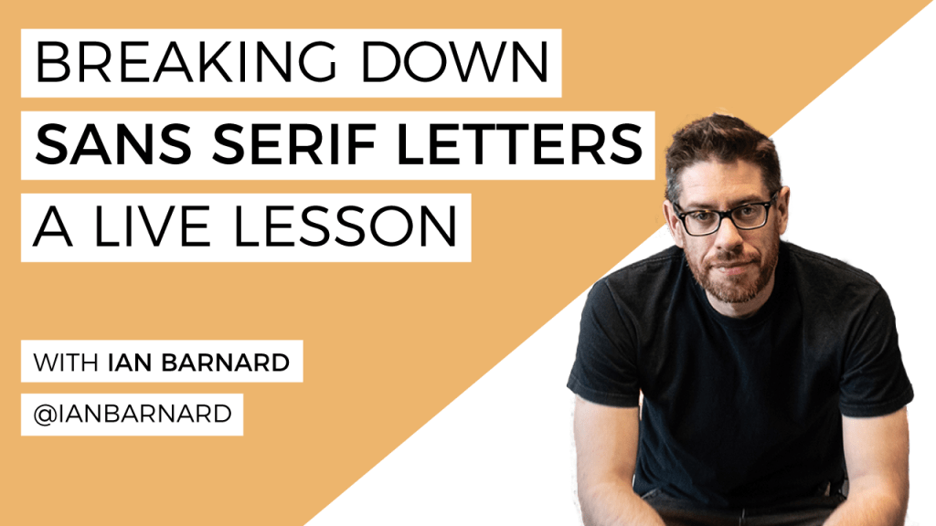 Sans-Serif-Lettering-Ian-Barnard