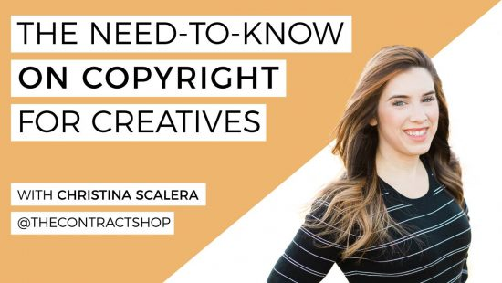 Copyright for Creatives with Christina Scalera