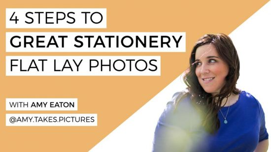 4 Steps to Great Stationary Flat Lay Photos