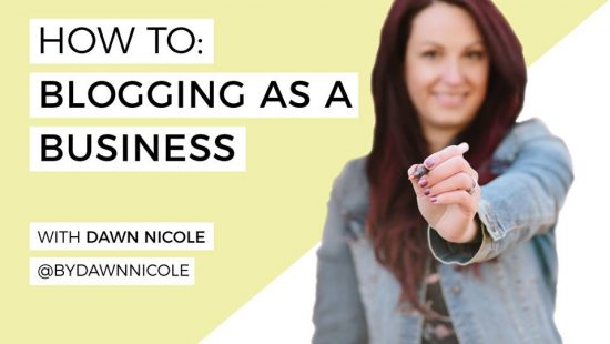 How to Start a Blog as a Creative Business with Dawn Nicole