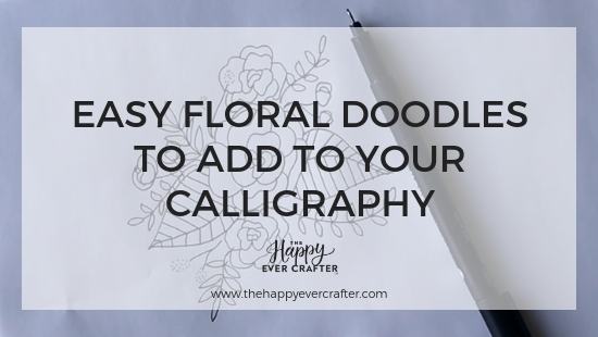 Easy Floral Doodles to Add to Your Calligraphy
