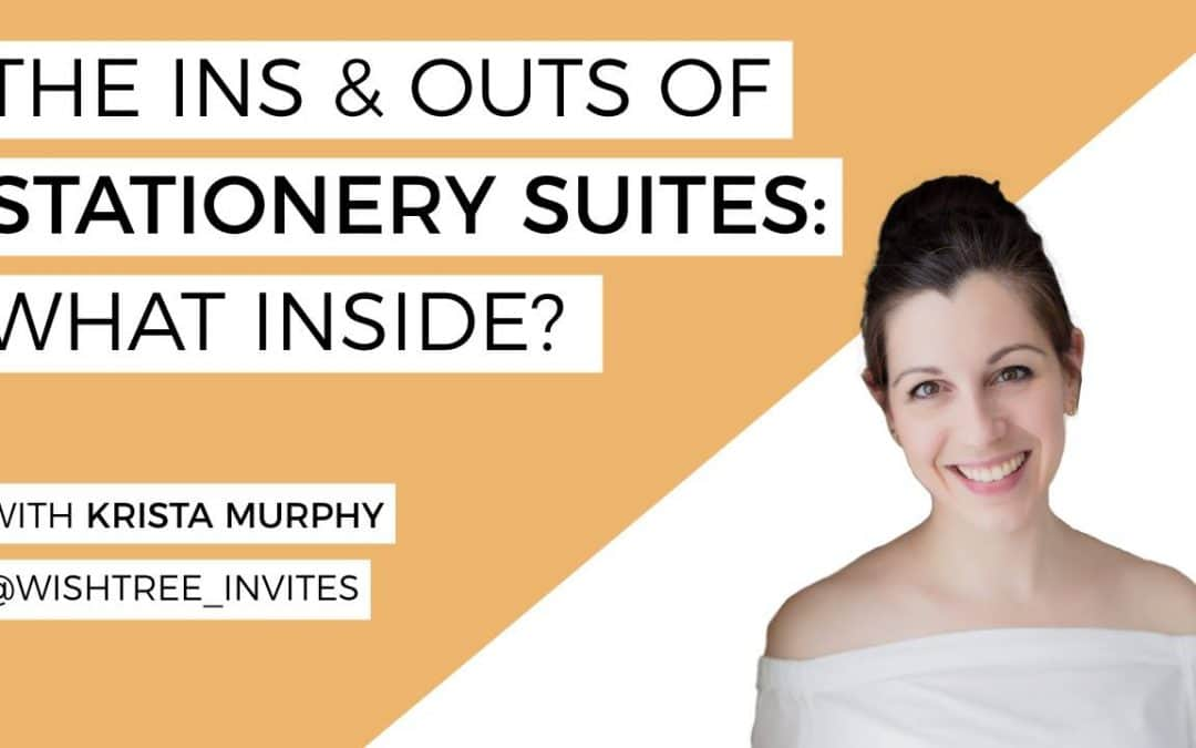 The Ins And Outs Of Stationery Suites: What Inside?