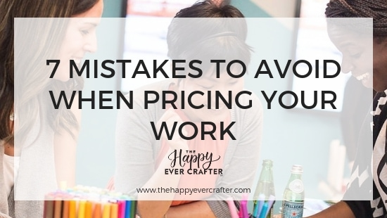 7 Mistakes to Avoid When Pricing Your Work