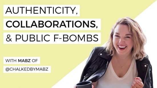Authenticity, Collaborations & Public F-Bombs