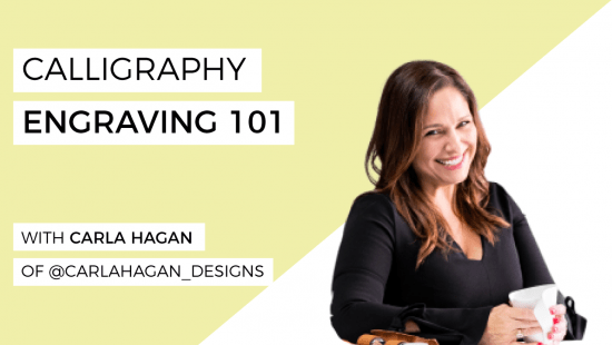 How To Do Calligraphy Engraving For Beginners