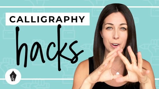3 Hacks For Laying Out Calligraphy Letters