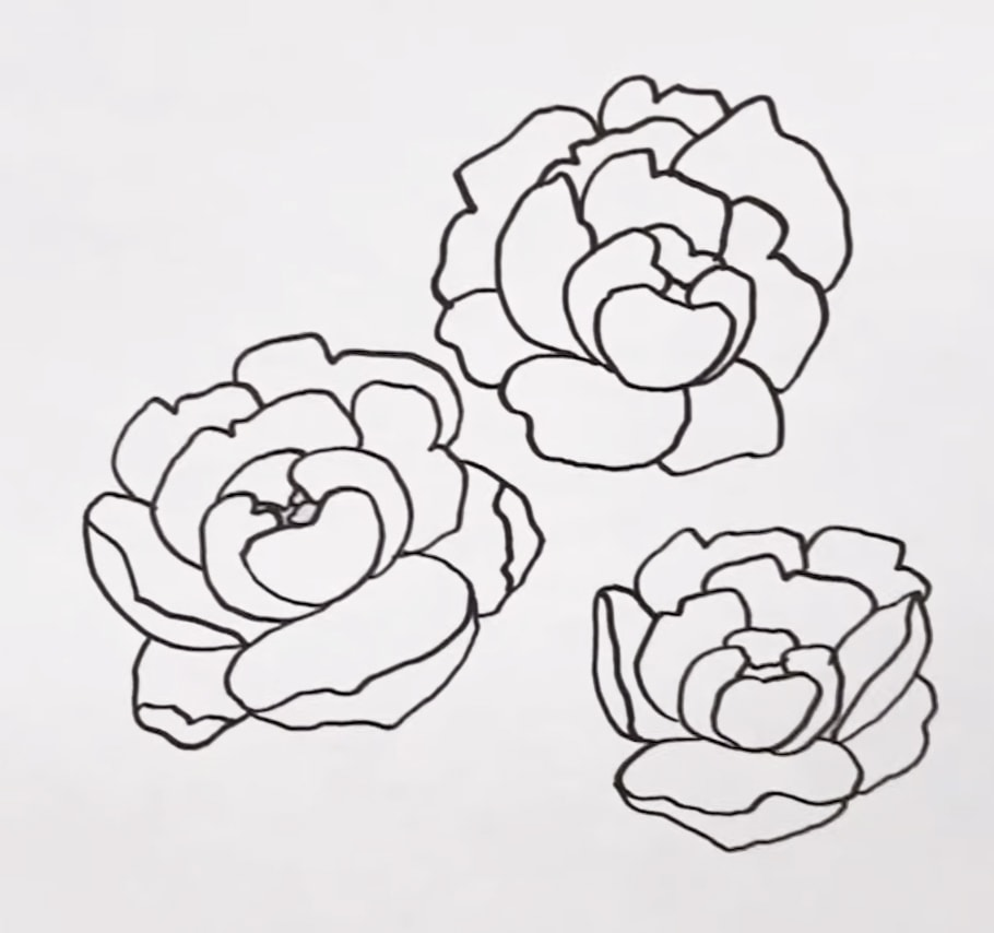How To Draw Easy Step By Step Floral Doodles And Use Them To Diy Your Own Shoes The Happy Ever Crafter