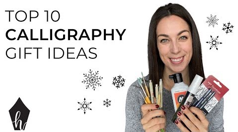 Gift Guide: My Top 10 Calligraphy and Lettering Gifts