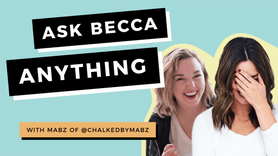 Ask Becca Anything With Guest Host Mabz