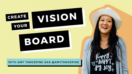 Create Your Own Mini 2020 Vision Board!