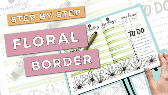 How to Draw a Floral Border: Step-by-Step Tutorial