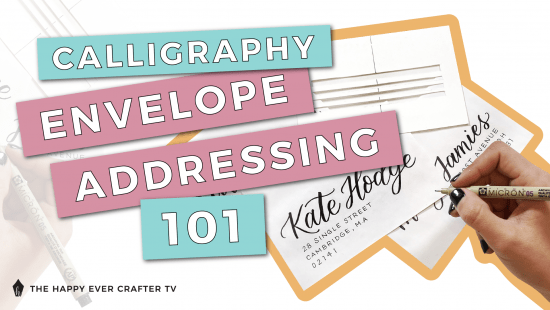 How To: Calligraphy Envelope Addressing 101