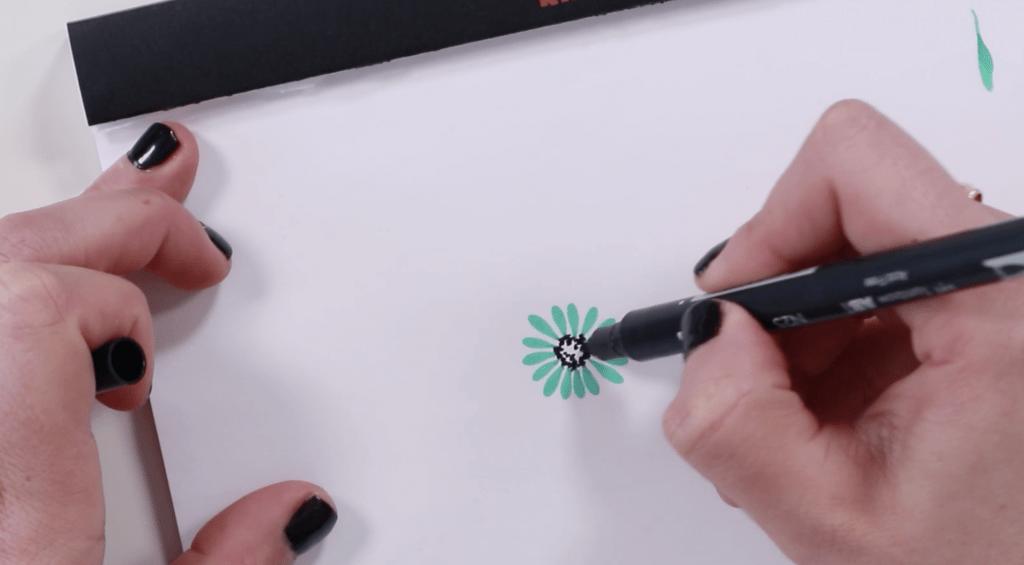 Easy Flower - Dots