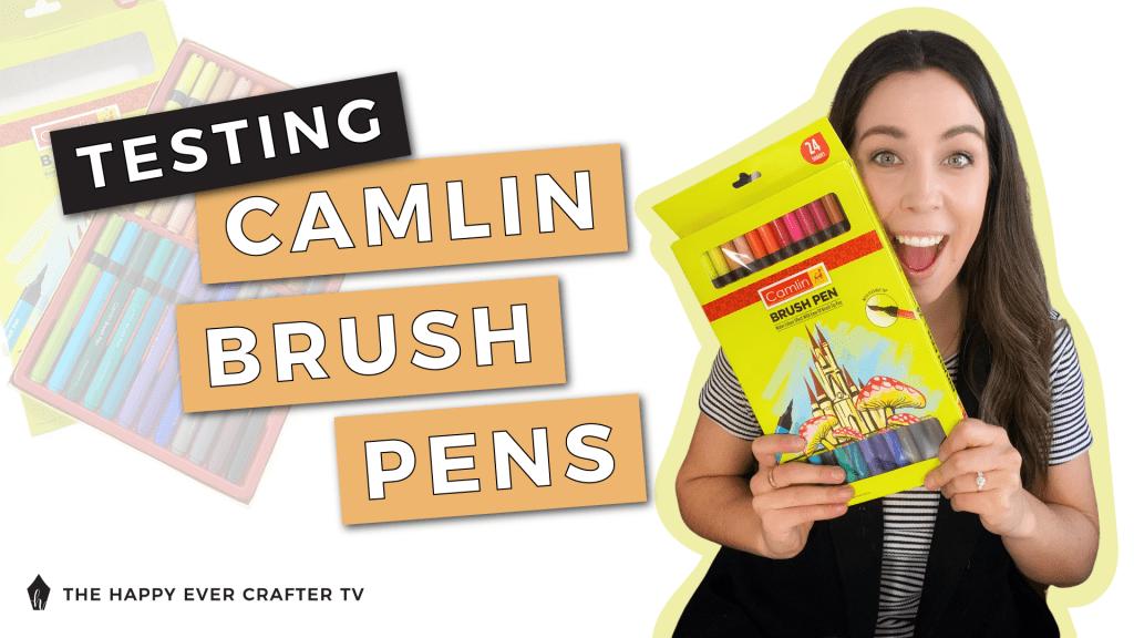 Camlin Brush Pen Review Photo
