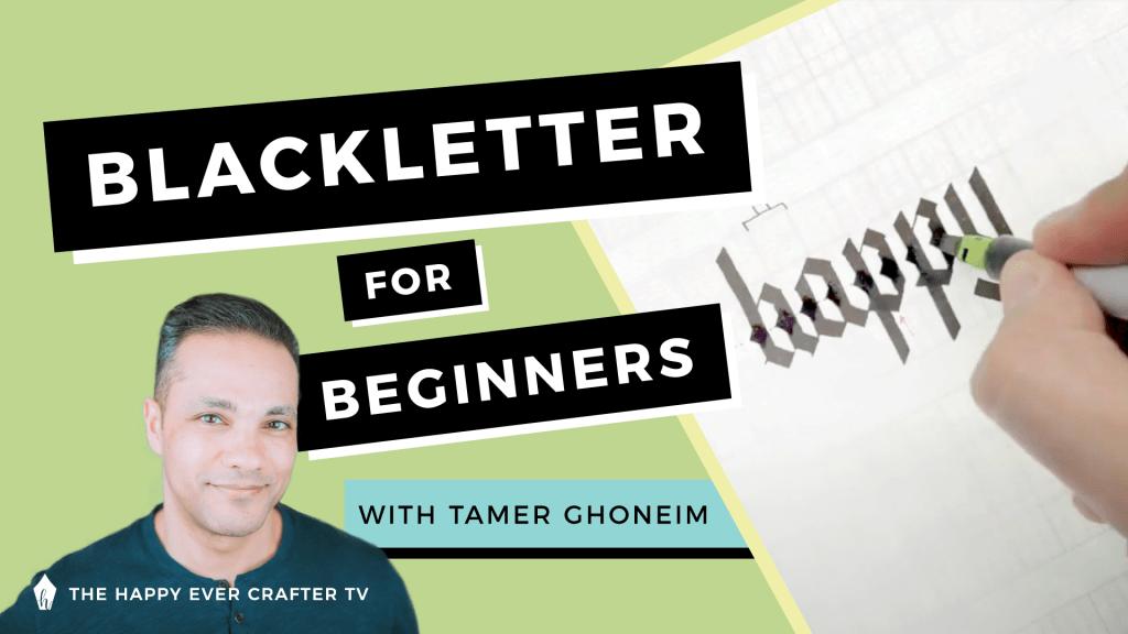 Blackletter for Beginners Tamer Ghoneim