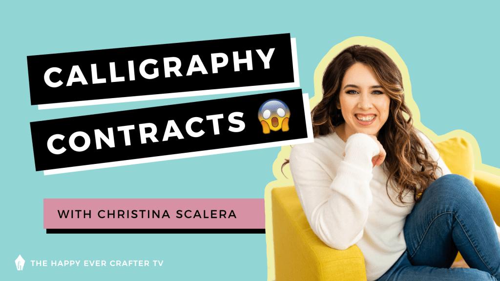 Christina Scalera - Calligraphy Contracts photo