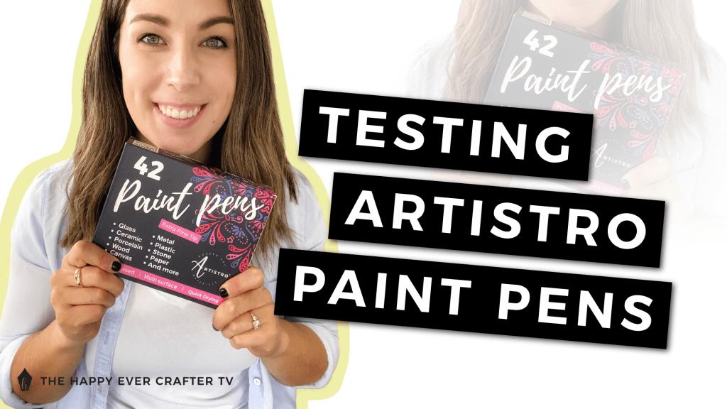 Artistro Paint Pens Review Photo