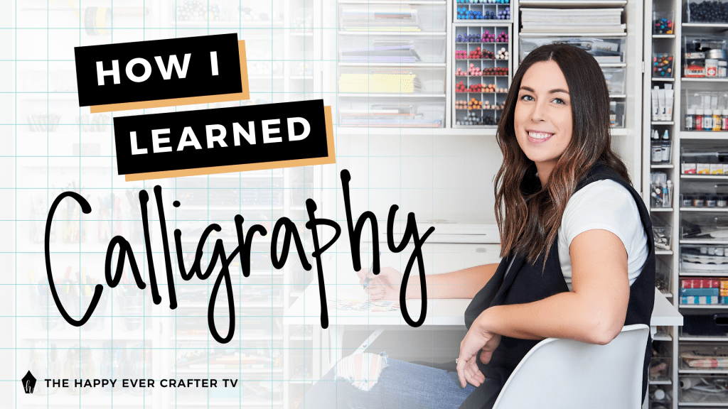 How I Learned Calligraphy Photo